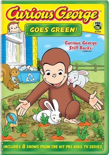 Curious George Goes Green -