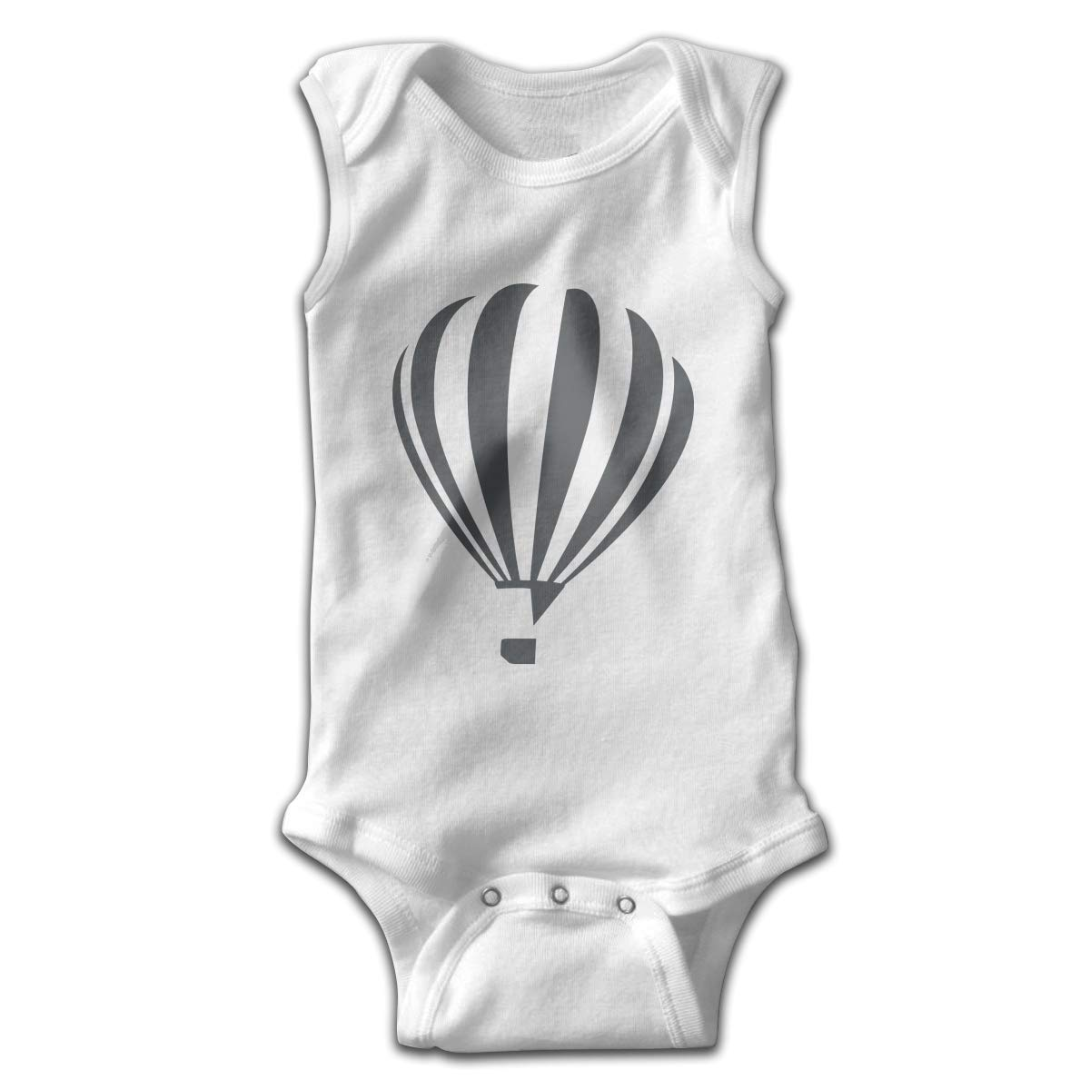 Newborn Baby Girls Rompers Sleeveless Cotton Onesie,Hot Air Balloon Bodysuit Summer Pajamas
