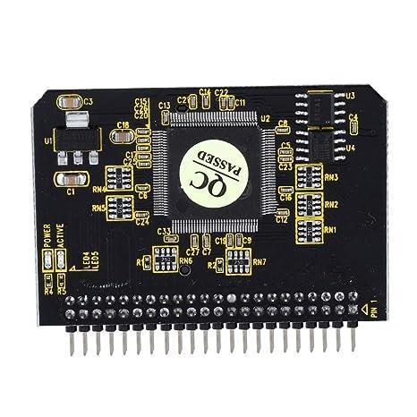 Jacksking SD a IDE 44Pin, SD a IDE SD/SDHC/SDXC/MMC Tarjeta ...