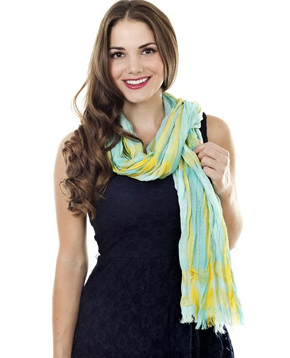 Taleen Plaid Design Fashoin Womens Shawl Scarf