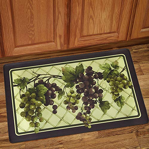 (bed bath n more Grapes of Tuscany Anti-Fatigue Floor Mat (18