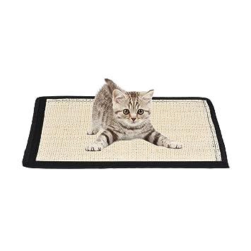 Alfombrilla acolchada de sisal Chengstore, rascador para gatos. Protector antiarañazos para muebles y sofás: Amazon.es: Productos para mascotas