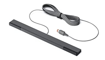 Nintendo Wii Sensor Bar Black Wired Official RVL-014 New by Nintendo