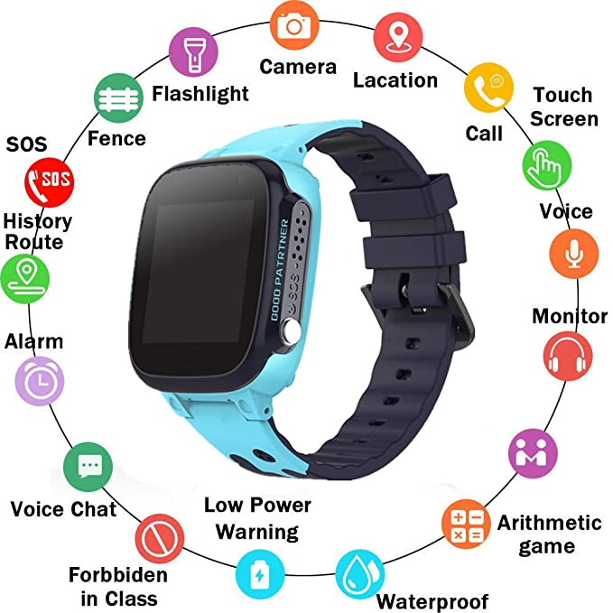 Amazon.com: PTHTECHUS Waterproof Smart Watch for Kids ...