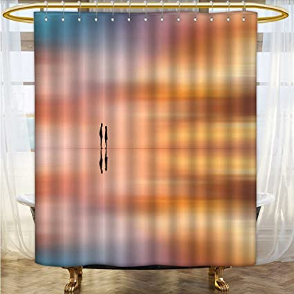 Custom Made Shower Curtains.Amazon Com Shower Curtains 3d Digital Printing Lovers