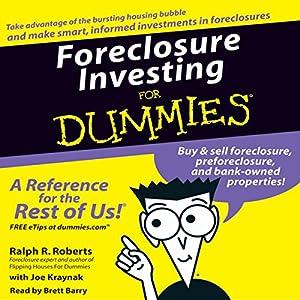 Foreclosure Investing for Dummies Audiobook