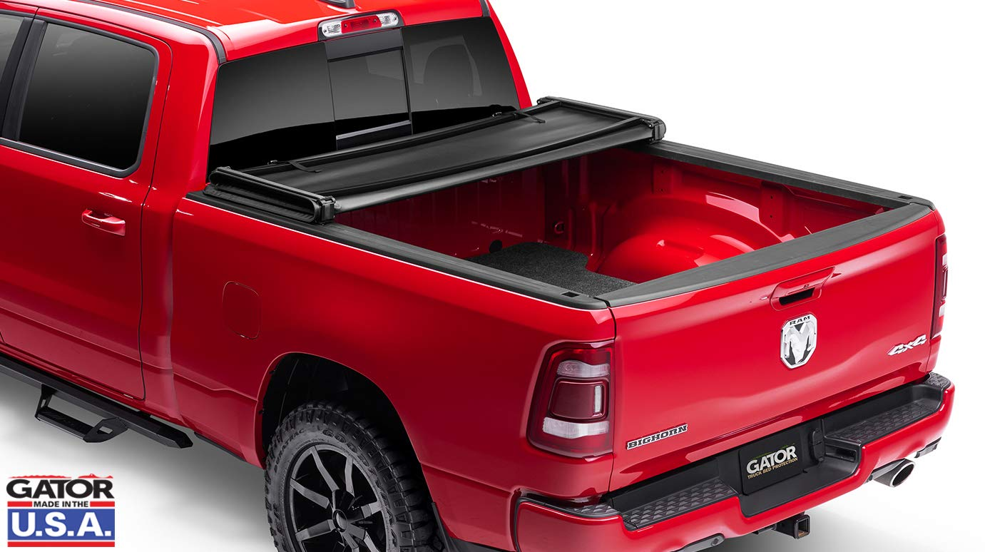 Gator Etx Soft Tri Fold Truck Bed Tonneau Cover Made In The Usa 2019 Ram 5 7 Bed W Out Rambox New Body Style 59421 Tonneau Covers