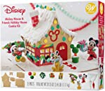 Wilton Gingerbread House Kit, Mickey and Friends Holiday House, 39.25 oz.