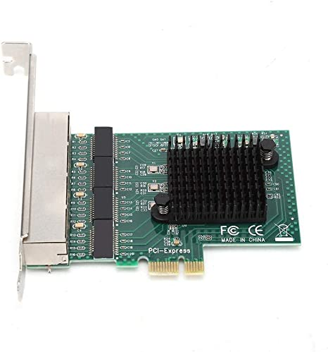 10//100//1000Mbps Rate Dual-Port PCI-E X1 Gigabit Ethernet Network Card Adapter