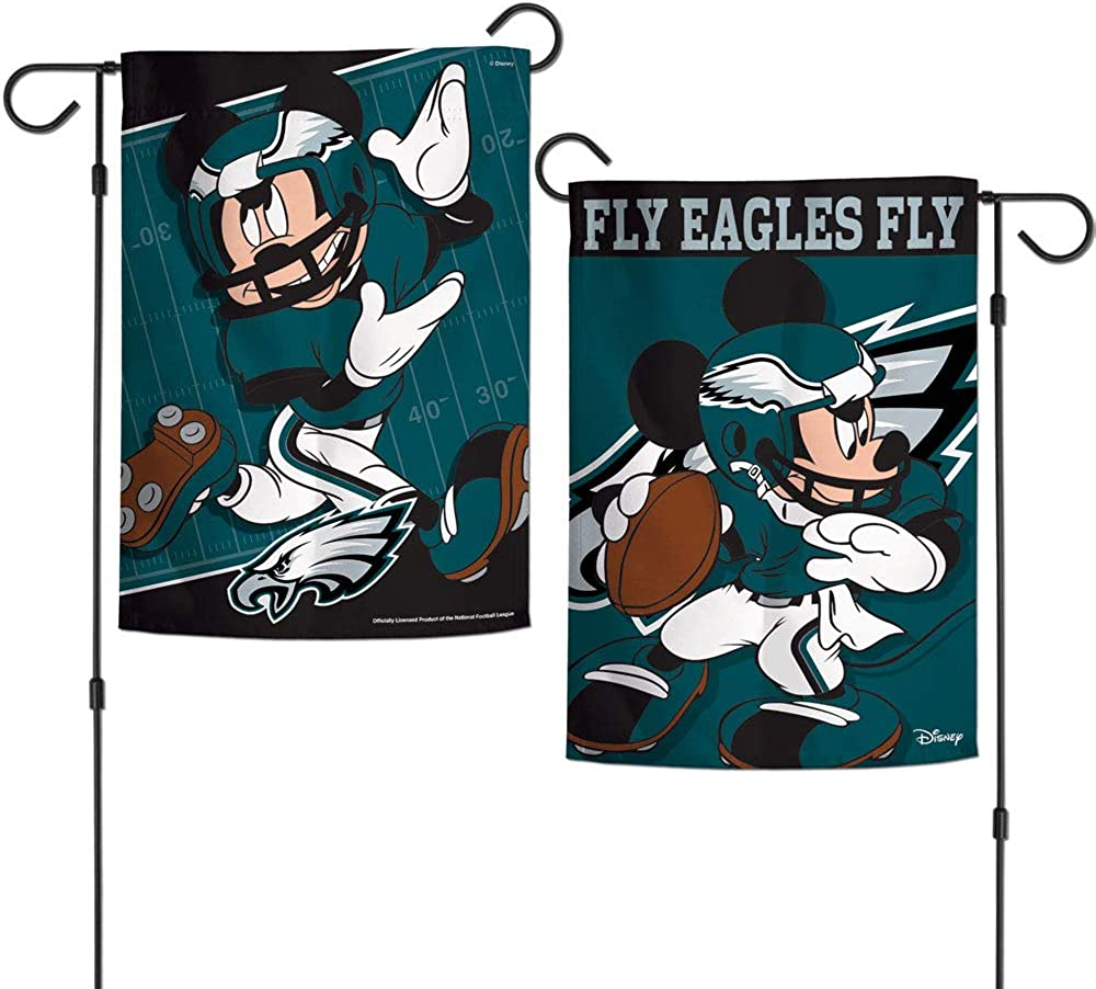 WinCraft NFL Philadelphia Eagles Flag12x18 Garden Style 2 Sided Flag Team Colors One Size