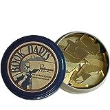 Bookdarts bookmarks - 50 count tin - brass