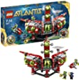 LEGO - 8077 - Jeux de construction - LEGO atlantis - Le QG d' exploration Atlantis