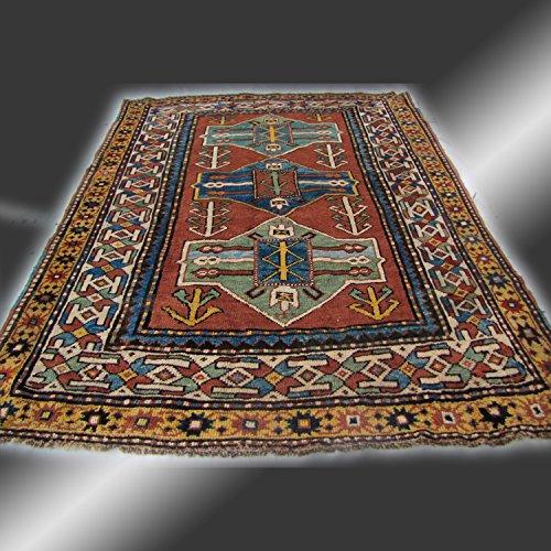 Antique Caucasian Kazak Oriental Rug Circa 1930s rr3059