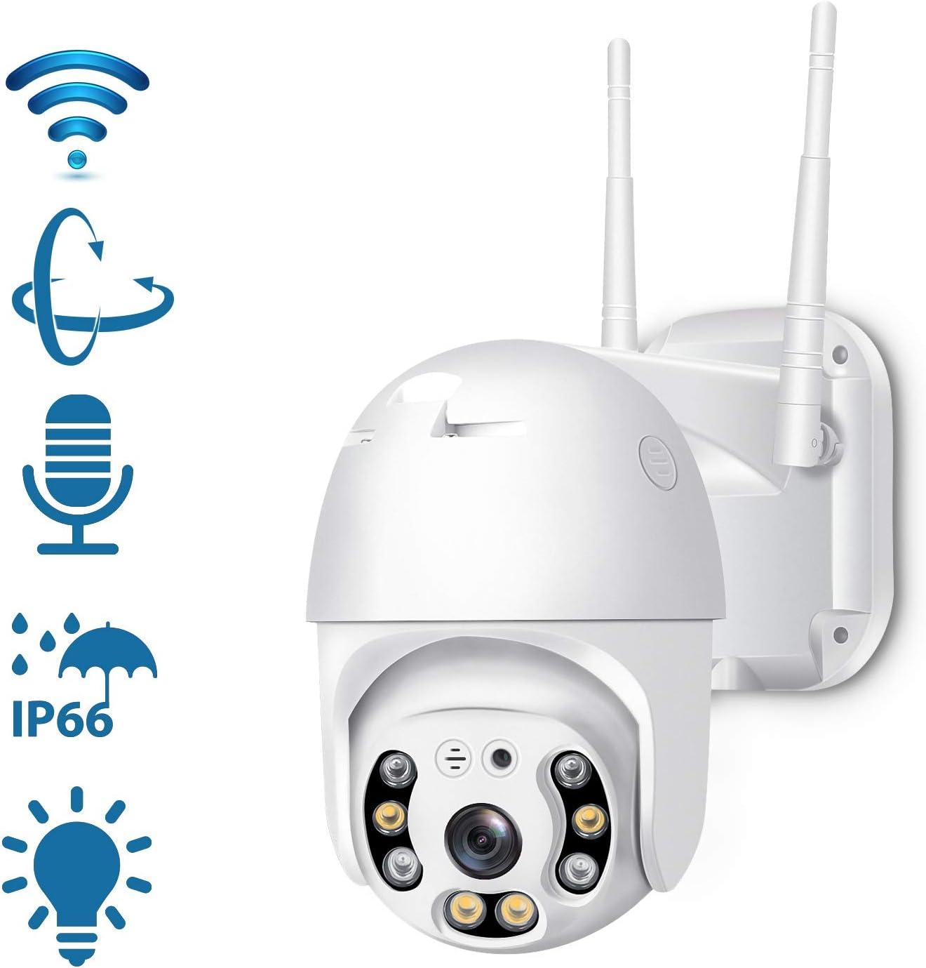 Wireless 1080p Pan /& Tilt Security Camera