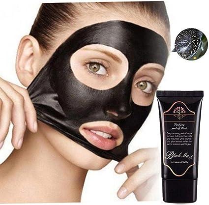 Blackhead eliminación facail máscara, máscaras de carbón activado negro cara limpieza profunda peel-off