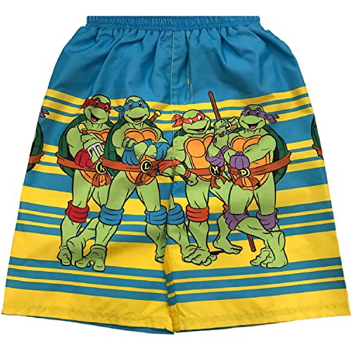Toddler Boys Teenage Mutant Ninja Turtles Swim Short Trunk - 3T