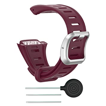 Chofit For Polar FT60 - Correa de Repuesto para Reloj Deportivo Polar FT60, Polar FT60, Red-B: Amazon.es: Deportes y aire libre
