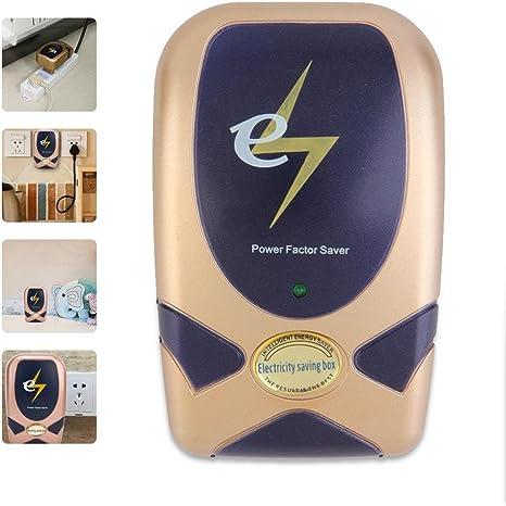 Teepao 28KW - Ahorrador de energía digital para el hogar, dispositivo de ahorro de electricidad inteligente, caja de ahorro eléctrico que reduce el consumo de energía en hasta un 30% de enchufe
