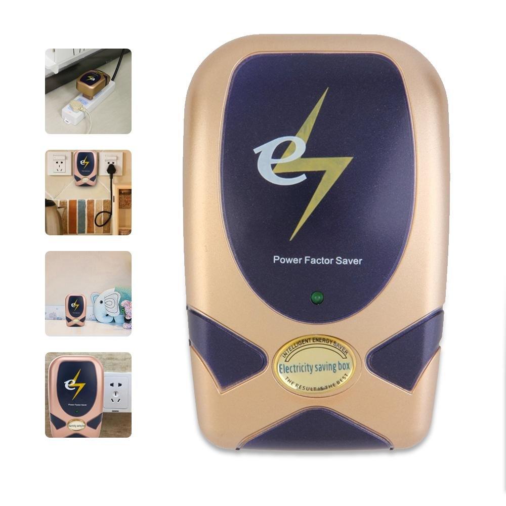 AOLVO Teepao 28KW - Ahorrador de energí a Digital para el hogar, Dispositivo de Ahorro de Electricidad Inteligente, Caja de Ahorro elé ctrico, Reduce el Consumo de energí a hasta un 30% Caja de Ahorro eléctrico