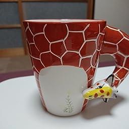 Amazon Co Jp コップ マグカップ コーヒーカップ 食器 北欧風 動物 キャラクター スプーン付き 300 400ml アニマル かわいい お洒落 ペン立て 鉛筆立て インテリア お祝い 新生活 ギフト プレゼント キリン ホーム キッチン