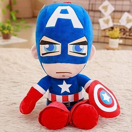 Peluche Juguete-Suave Relleno Superhéroe Capitán América ...