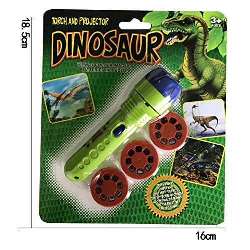 - Projector Flashlight Night Photo Picture Light Bedtime Dinosaur Study Fun Toys for Baby Toddlers with the Wide Variety of Different Projecting Picture