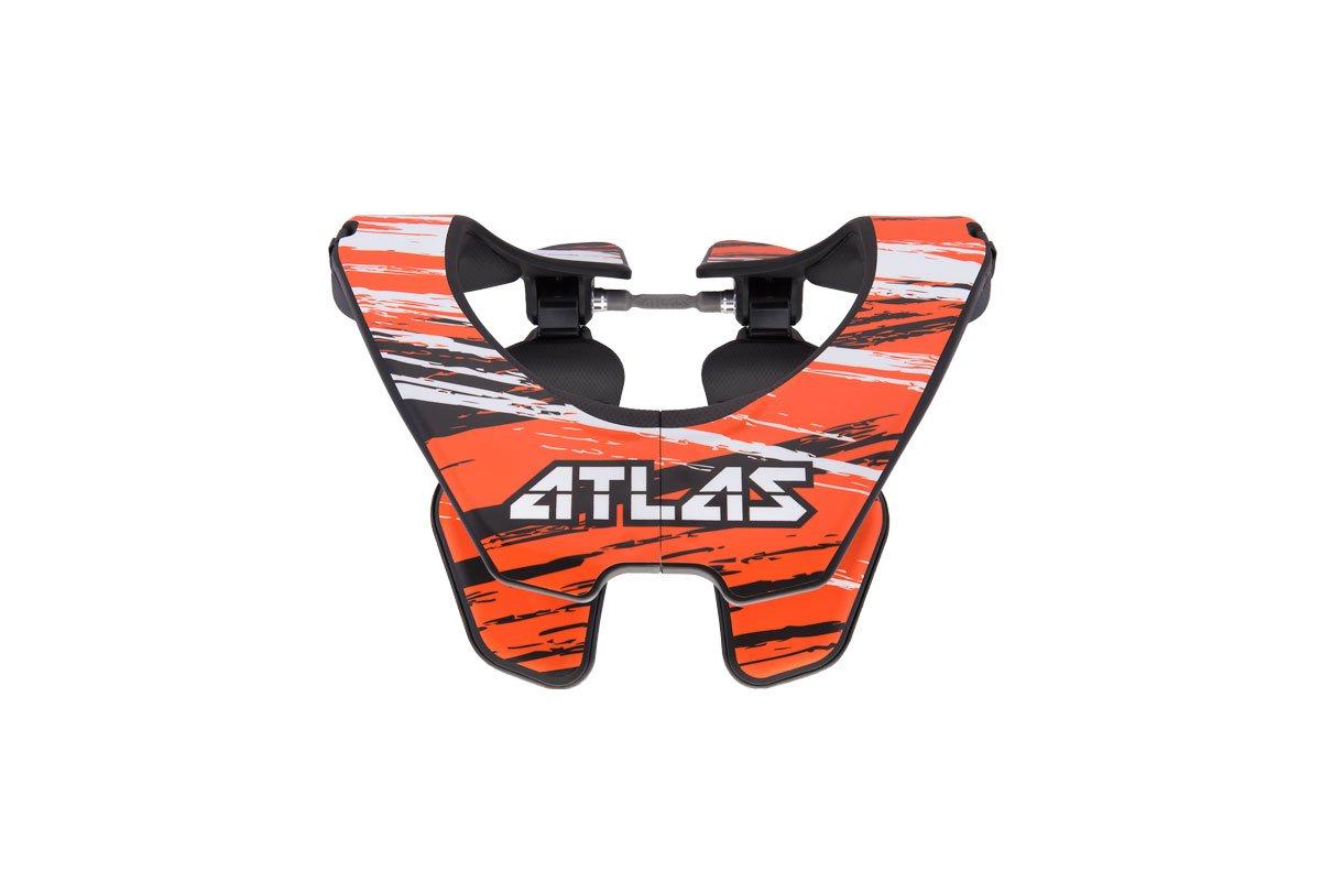 Atlas Brace Technologies Prodigy Brace, 2017 Unisex-Adult (Orange, One Size) (Brush Orange) by Atlas Brace Technologies (Image #1)