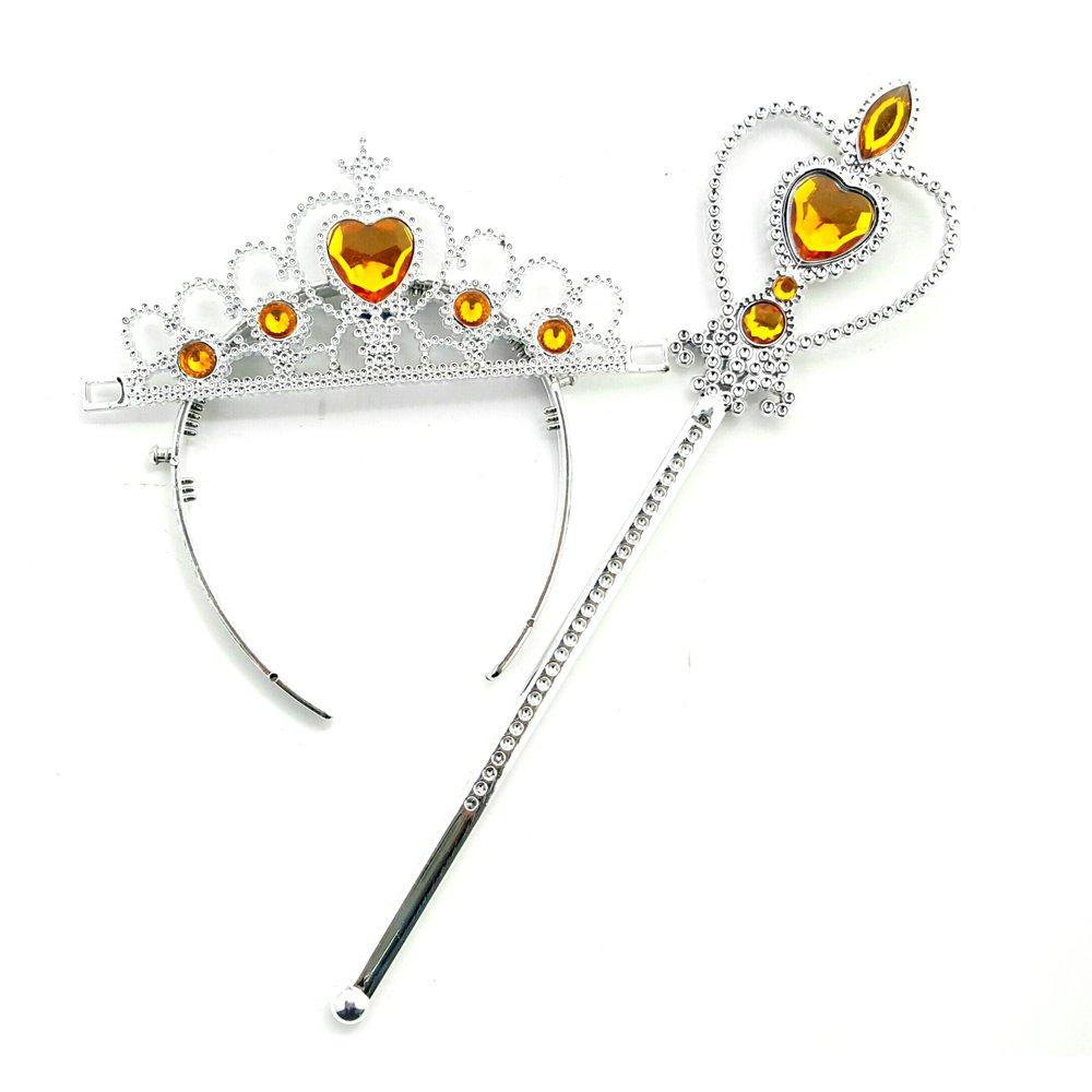 Daily Proposal Princess Tiara & Wand Set USA (Yellow)