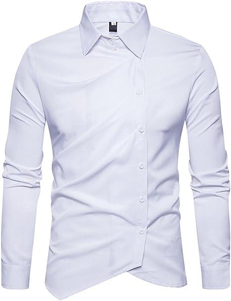 Hombres Camiseta de Manga Larga Macho Oblique Camisa de Manga ...