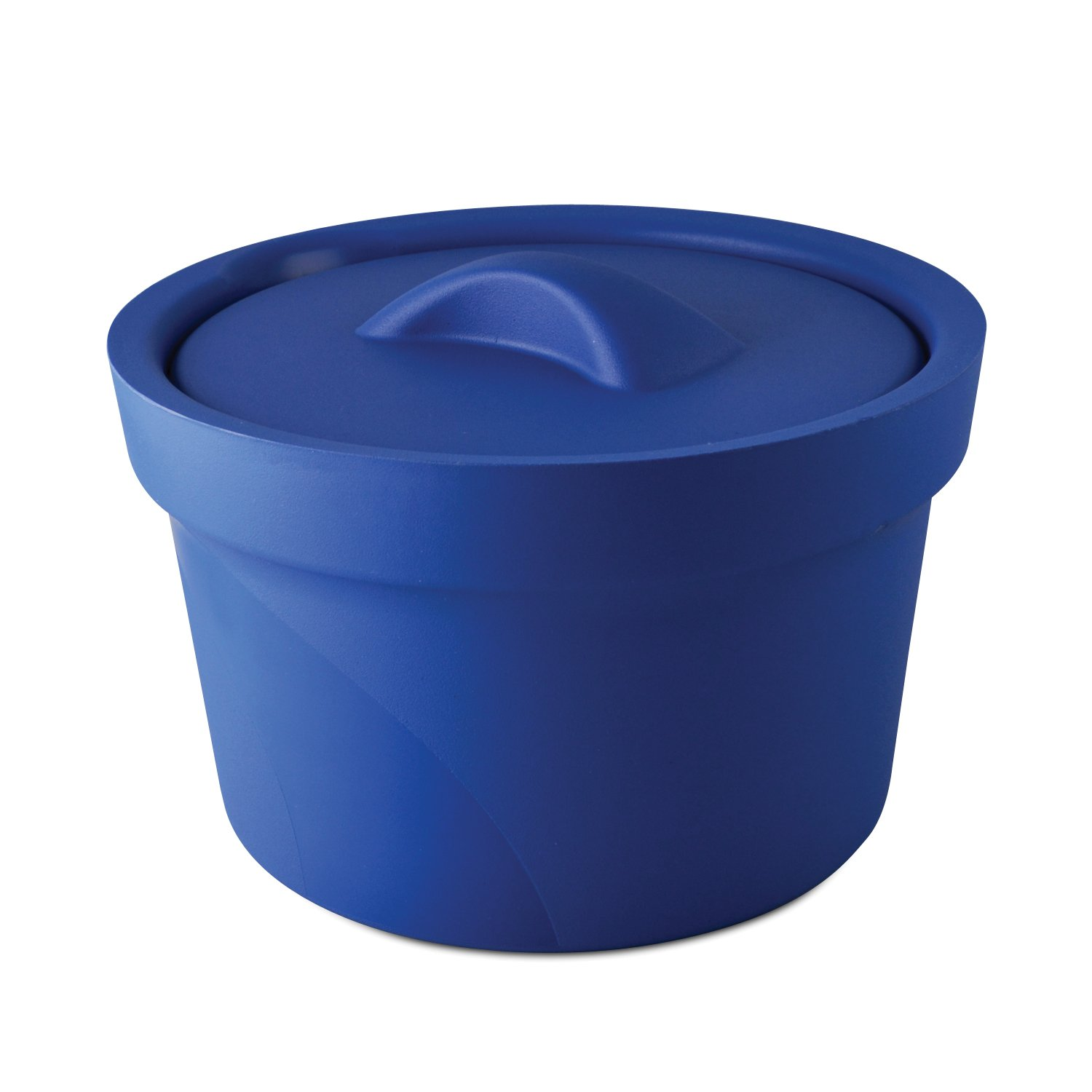 Bel-Art Magic Touch 2 High Performance Blue Ice Bucket; 2.5 Liter, with Lid (M16807-2001) by SP Scienceware (Image #1)