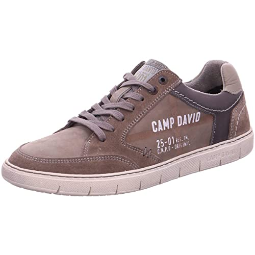 3c3451abf2f2c4 Camp David Leder-Sneaker mit Logo  Amazon.de  Schuhe   Handtaschen
