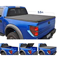 1. Tyger Auto TG-BC3F1041 TRI-FOLD Truck Bed Tonneau Cover 2015-2018 Ford F-150 | Styleside 5.5' Bed