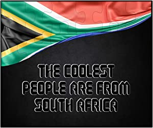 Makoroni - The Coolest People are from South Africa South Africa Flag South African - 30 psc. Jigsaw Puzzle