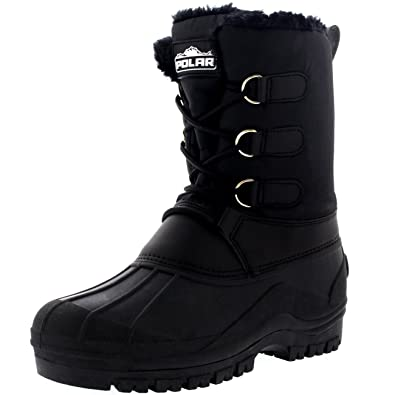 Womens Muck Lace Up Nylon Ankle Duck Durable Outdoor Boots