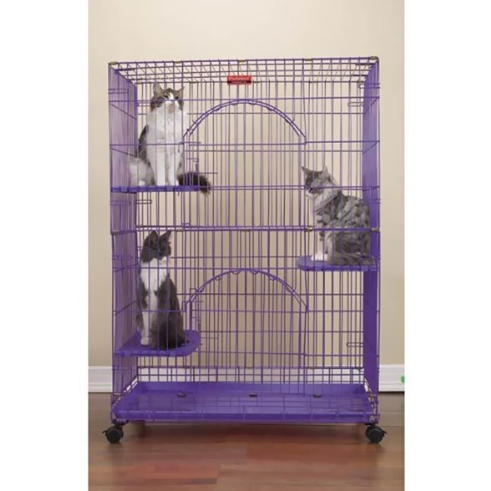 ProSelect ZW334 79 Foldable Cat Cages 48