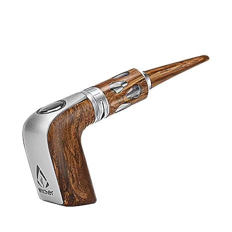 Ecigarette Box Mod Ecig Vape Kit Witcher Stalin E Pipe Box Starter Kit 40w Electronic Cigarette E Pipe Kit 0 5 Sub Ohm Ecig Witcher Ecig Kits