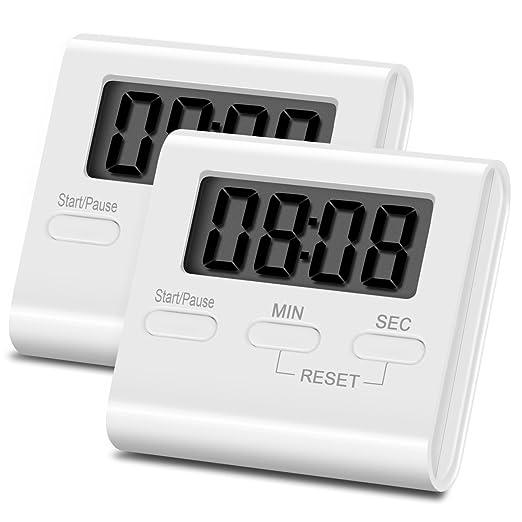 21 opinioni per Timer da Cucina – ZWOOS Magnetico Digitale Timer Cucina Elettronico Con Allarme