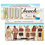 Nude Beach Eyeshadow Palette, 12 Eye-Popping Shades, Triple-Milled Pigments
