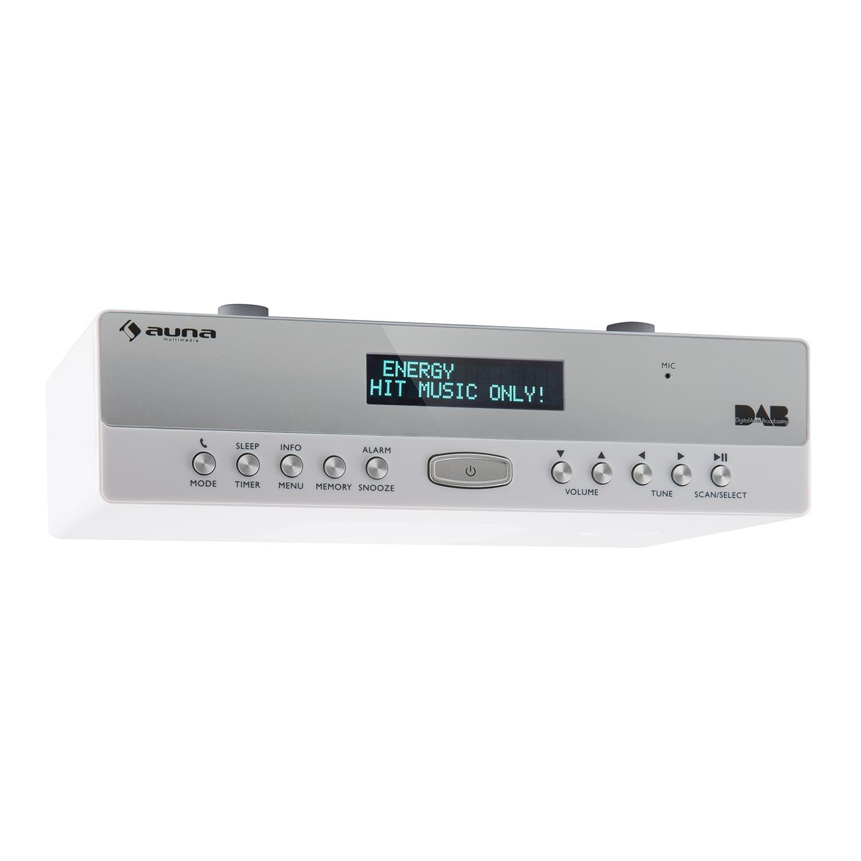 Auna KR-100 DAB Kitchen Radio • Under Cabinet: Amazon.co.uk: Electronics