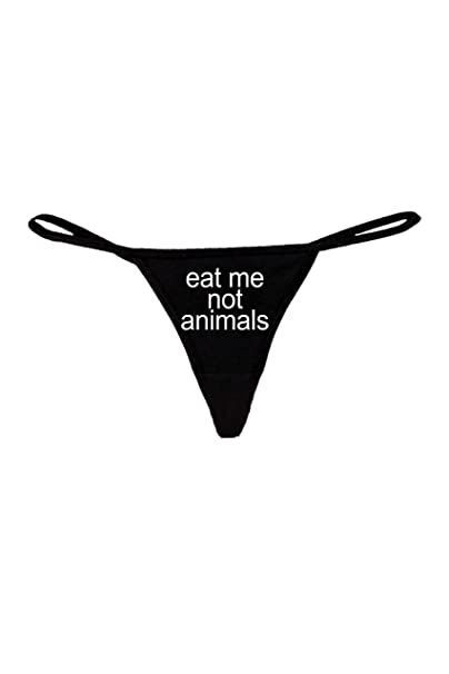 Amazon.com: Divertida y sexy tanga para mujer comer no ...