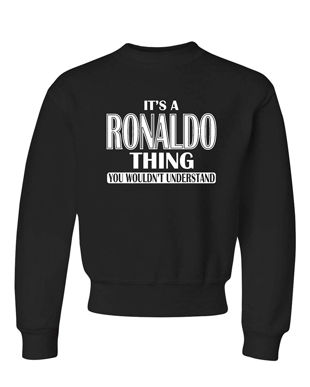 Youth Its A Ronaldo Thing You Wouldnt Understand Crewneck Sweatshirt