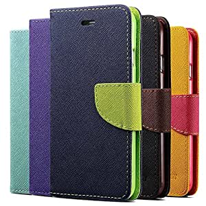 Lovely Wallet Leather Case For iPhone 6 Plus 5.5 Inch Fashion Stand Phone Back Magnetic Buckle With Card Holder Cover Luxury --- Color:Yellow Case