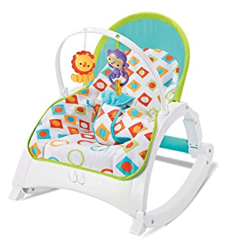 eb699624d26 Buy The Flyers Bay Fiddle Diddle Baby Bouncer Cum Rocker(924a) Online at  Low Prices in India - Amazon.in