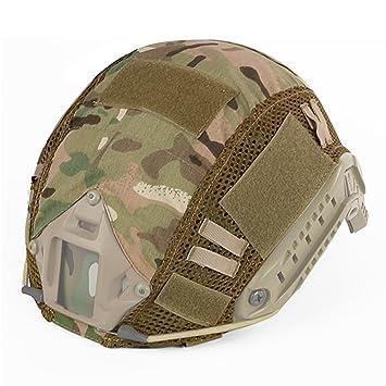Hunting Explorer Tactical FAST MH PJ - Casco de camuflaje con accesorios para casco militar de