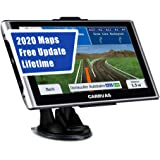 CARRVAS GPS Navigation for Car,Truck,7 Inch Voice Turn Direction Guidance,Support Speed and Red Light Warning Pre-Installed US, Mexico,Canada + South America Maps