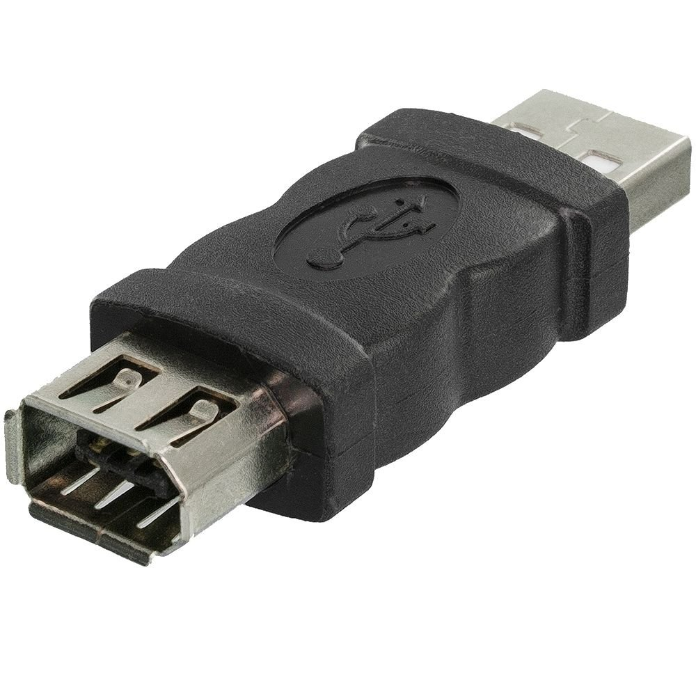 Amazon.com: ANiceSeller Firewire IEEE 1394 6 Pin Female to USB Male ...