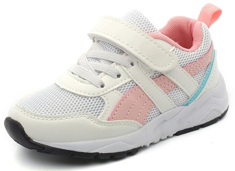 SFNLD InStar Kids Breathable Hook and Loop Antiskid Sports Sneakers Shoes