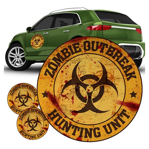 FanWraps Zombie Hunting Unit, Orange