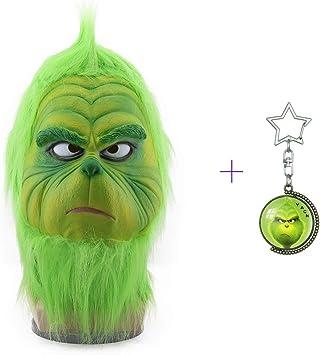 yacn The Grinch Mascara con Fur MAX Personajes de Navidad ...