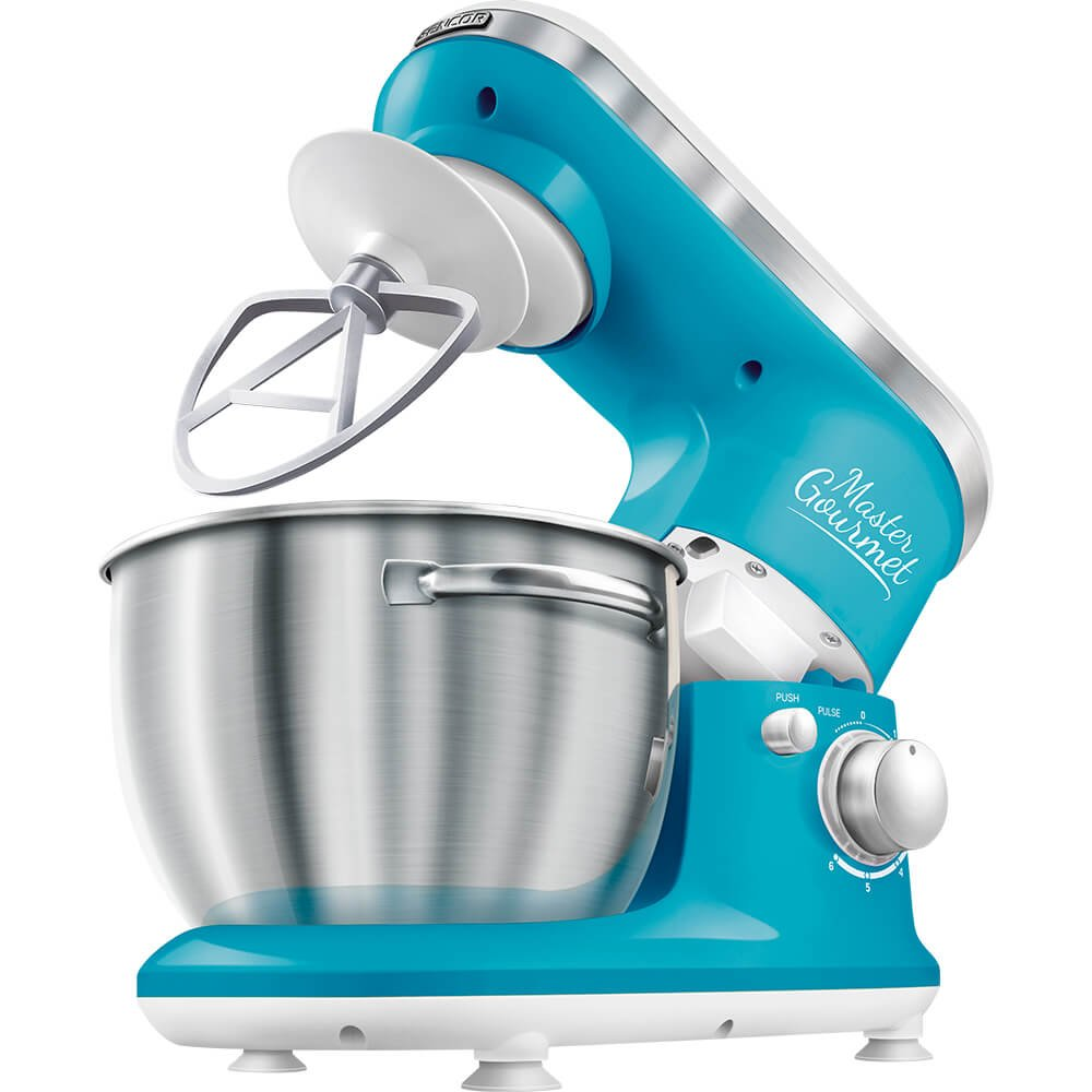 4.2 Qt. 6-Speed Stand Mixer Color: Solid Blue Sencor STM3622BL-NAA1